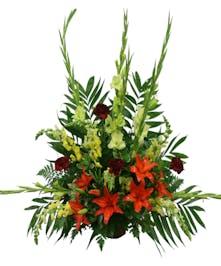 A Traditional Funeral Arrangement