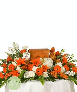 Orange & White Tribute