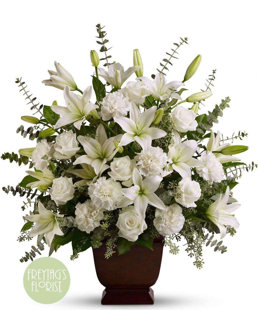 Austin Tx Funeral Flowers In Loving Memory Funeral Flowers