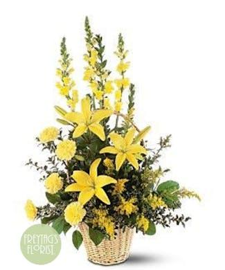 A Monochromatic Yellow