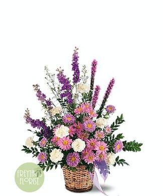 A Lavender Reminder Basket