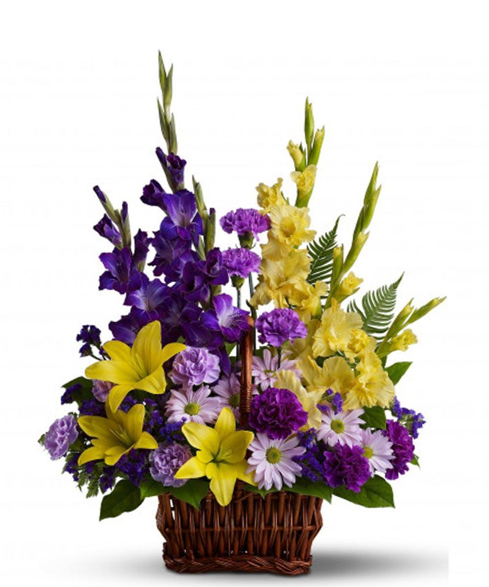 Austin Tx Funeral Flowers Basket Of Memories Freytags Florist
