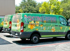 A Freytag's branded delivery van awaits your next order